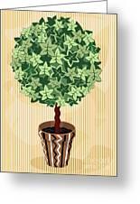 Topiary Tree Greeting Card