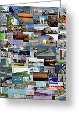 Topsail Island Nc Collage  Greeting Card