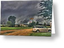 Tornado Over Madison 3 Greeting Card