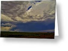Tornado Warned Denver Supercell Greeting Card