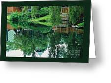 Reflections On Toronto Island Greeting Card
