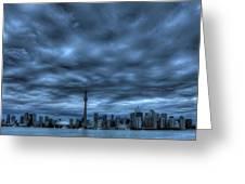 Toronto Blue Greeting Card