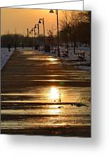 Toronto Boardwalk Greeting Card