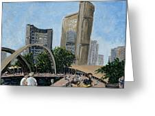 Toronto City Hall Greeting Card