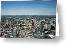 Toronto Divide Greeting Card