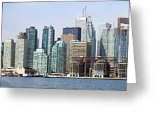 Toronto Downtown Greeting Card