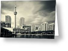 Toronto Harbourfront Greeting Card