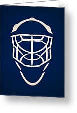 Toronto Maple Leafs Goalie Mask Greeting Card