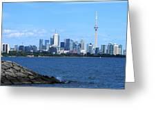 Toronto Ontario Canada Skyline Greeting Card