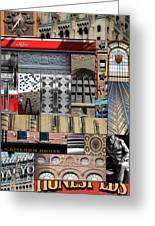 Toronto Textures 1 Greeting Card