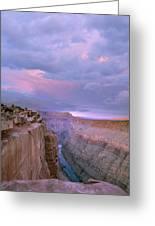 Toroweap Overlook Grand Canyon Nparizona Greeting Card