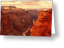 Toroweap Point, Grand Canyon, Arizona Greeting Card
