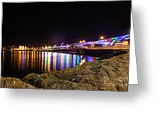 Torquay Lights Greeting Card