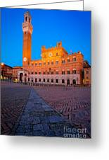 Torre Del Mangia Greeting Card