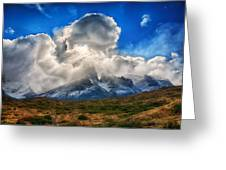 Torres Del Paine 2 Greeting Card