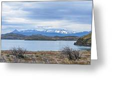 Torres Del Paine National Park Greeting Card