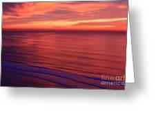 Torrey Pines Twilight Greeting Card
