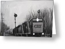 Torrit Train Greeting Card