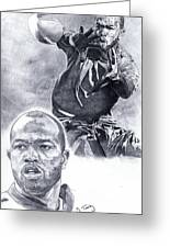 Torry Holt Greeting Card