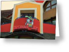 Tortilla Jos Signage Downtown Disneyland Greeting Card