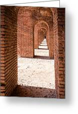Tortugas Infinite Walkway Greeting Card