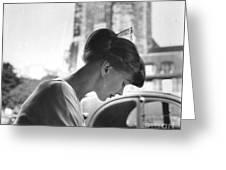 Torun Bulow-hube In Antibes 1962 Greeting Card