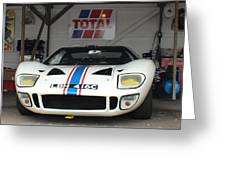 Total Ford Gt 40 Greeting Card