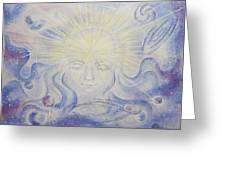 Total Freedom Af Mind And Spirit Greeting Card
