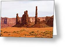 Totem Pole Buttes Greeting Card