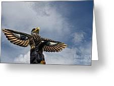 Totem Pole Greeting Card