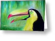 Toucan Land Greeting Card