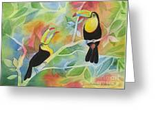 Toucan Play At This Game Greeting Card