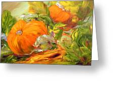 Touch Of Autumn Greeting Card by Barbara Pirkle