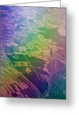 Touch Of Rainbow. Rainbow Earth Greeting Card by Jenny Rainbow