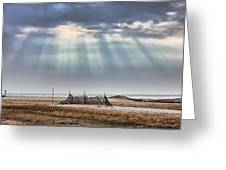 Touched By Heaven Greeting Card