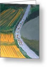 Tour De France 2 Greeting Card