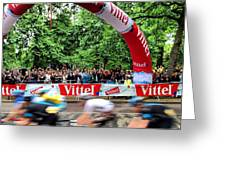 Tour De France 2014 Greeting Card