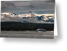 Touring Alaska Greeting Card
