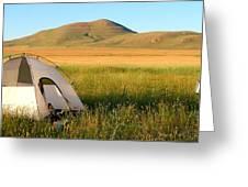 Touring Idaho On A Bmw Adventure Greeting Card