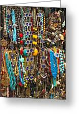 Tourist Souvenirs In Jersualem Israel Greeting Card