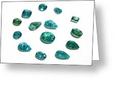 Tourmaline Paraiba Greeting Card