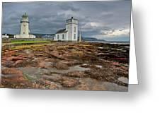 Toward Lighthouse  Greeting Card