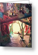 Toward The Light Greeting Card by Laurie Search