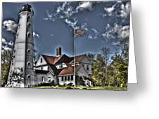 Tower At North Point Greeting Card