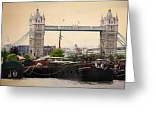 Tower Bridge Greeting Card by Stephen Norris