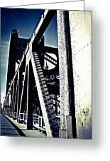 Tower Bridge - Throwback Greeting Card
