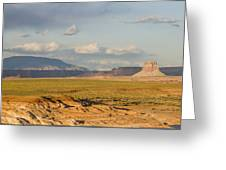 Tower Butte View Greeting Card