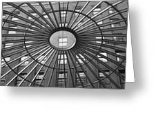 Tower City Center Architecture Greeting Card