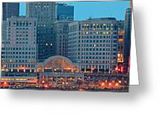 Tower City Greeting Card