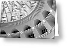 Tower City Rotunda Greeting Card